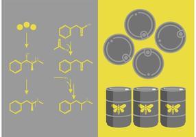 Rompendo um conjunto de vetos de química metanálica vetor