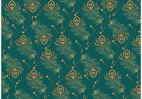 Vetor padrão do pavão pavão