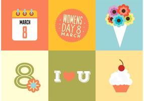 Dia das mulheres vetor