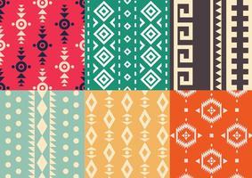 Vetores de padrões nativos americanos