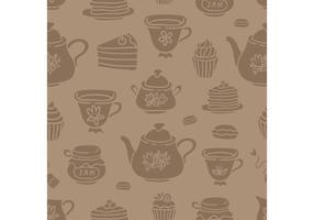 Vetores de chá cheios grátis