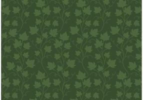 Vetor de padrão de videira ivy