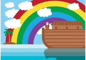 Vector da ilustração da arca