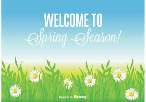 Belo fundo da primavera