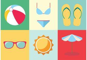 Elementos livres de férias Spring Break