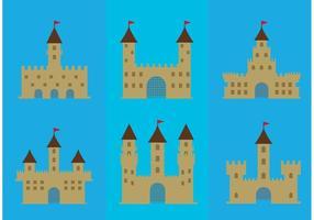 Conjunto de ícones de vetores do Forte