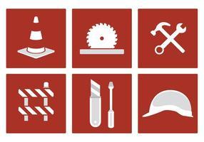Símbolos do vetor de construção