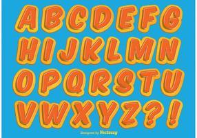 Alfabeto com estilo estilo