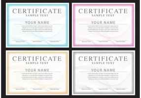Vetores de certificados clássicos