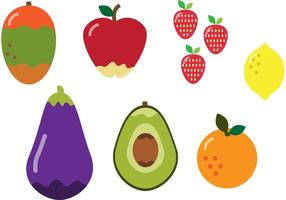 Alimentos Nutritivos Para Dieta vetor