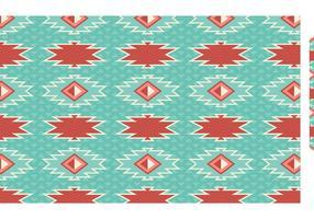 Padrão de vetor sem emenda geométrico asteca grátis