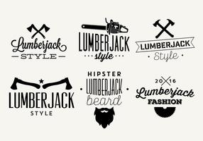 Ilustrações de vetor tipográfico