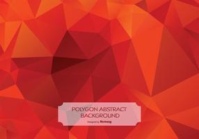 Ilustração de fundo de polígono abstrato vetor