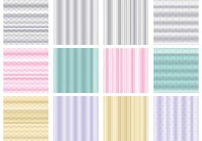 Vetores de padrões de tapeçaria de parede