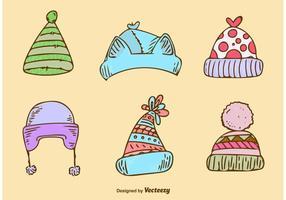 Bonitos chapéus de inverno
