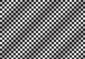 Teste padrão do tabuleiro de damas com sombra vetor