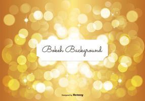 Fundo dourado de Bokeh