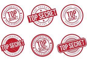 Caráter top secret 2 vetor