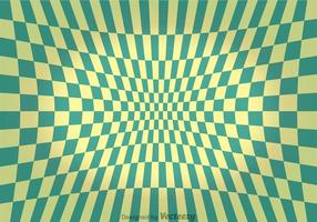 Green turqoise checker board abstract background vetor