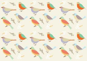 Fundo padrão de aves