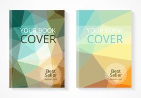 Conjunto de vetores de capa de livro do melhor vendedor gratuito