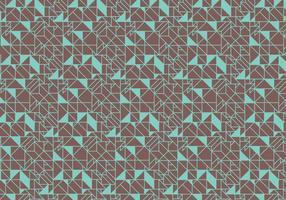 Vetor de fundo abstrato padrão Deco