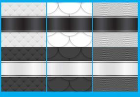 Fundo de tecido preto e branco vetor