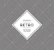 Padrões vetoriais geométricos e preto e branco gratuitos vetor