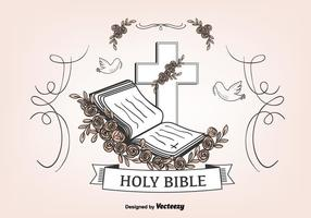 Abra o fundo da Bíblia