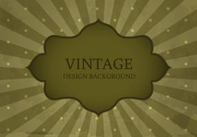 Vetor antigo do fundo da etiqueta do estilo do vintage