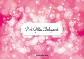 Ilustração de fundo Glitter Pink