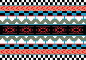 Ilustração vetorial do padrão asteca vetor