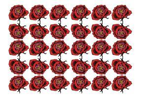 Vetor de fundo de rosas grátis