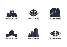 Logotipo Logotipo do Hotel vetor