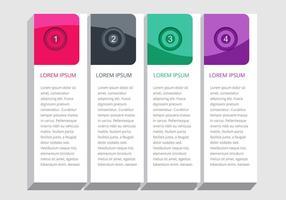 Projeto de elementos infográficos vetoriais vetor