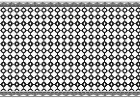 Vector azteca preto e branco livre