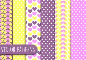 Soft Patterns de amor vetor