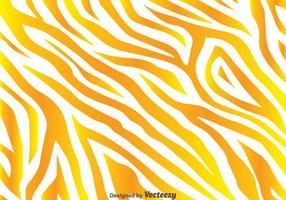 Fundo amarelo dourado da cópia da zebra vetor