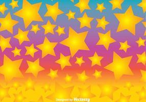 Vetor colorido do fundo da estrela do divertimento