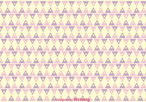 Triângulo Girly Pattern Vector