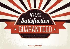 Ilustração de Satisfação Garantida vetor