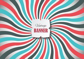 Vetor de banner vintage gratuito