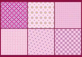 Fundos femininos cor de rosa vetor