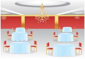 Sala de reunião vazia vetor