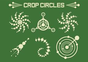 Vetores de círculos de colheita