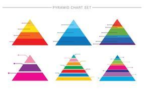 Piramide gráfico 1 vetor