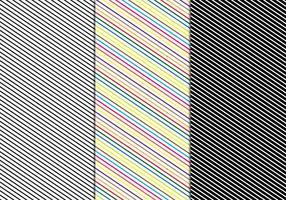 Vector de padrão de linha livre