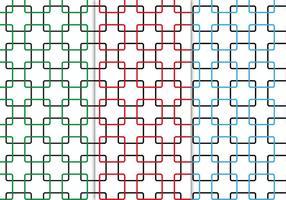 Vector de padrão de quadrados sem costura grátis