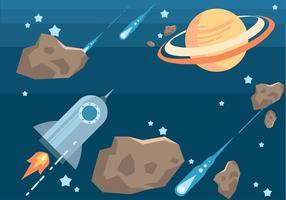 Conjunto de vetores espaciais