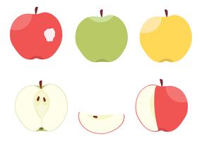 Vetor de maçãs grátis